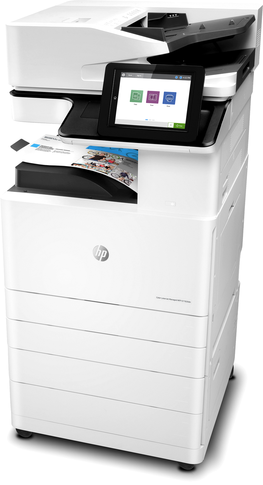 Multifunctional laser color HP Color LaserJet E77830dn
