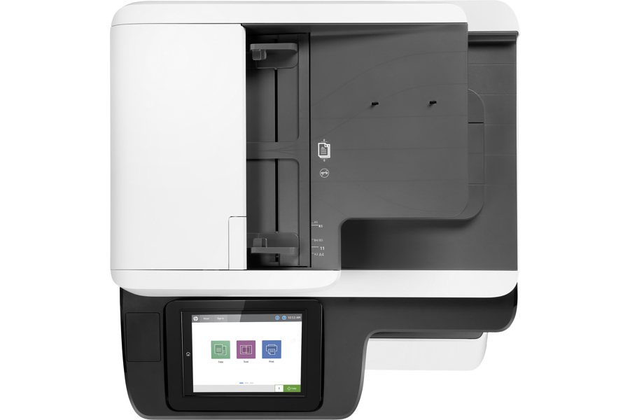 Multifunctional laser color HP PageWide SFP P77650dn