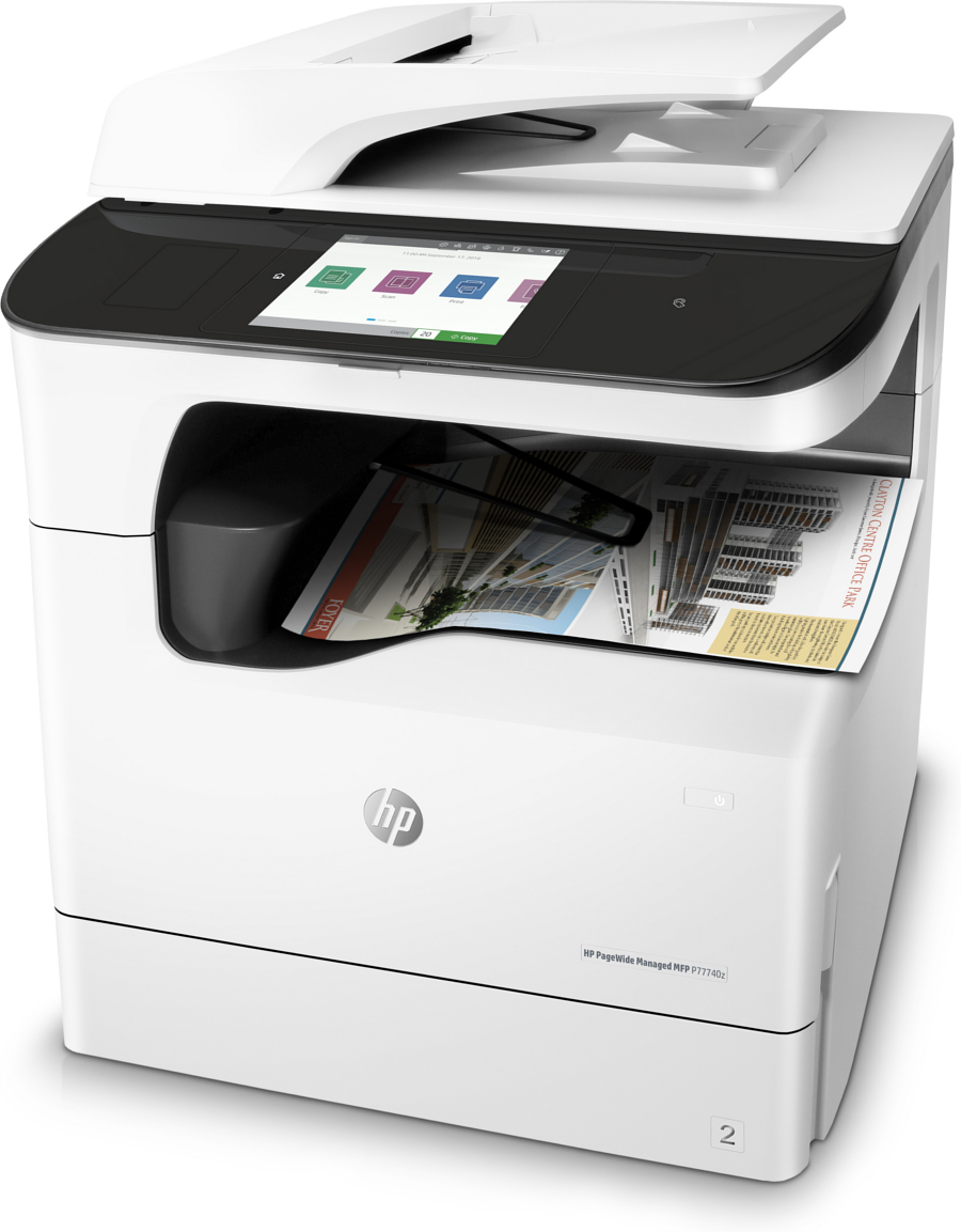 Multifunctional laser color HP PageWide  MFP P77740z