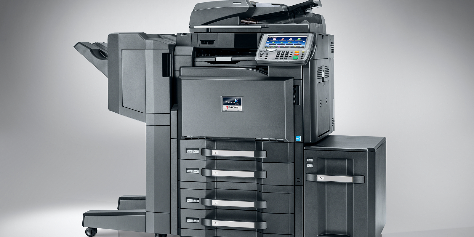 Echipamente multifunctionale laser color Kyocera prin Romsystem.ro