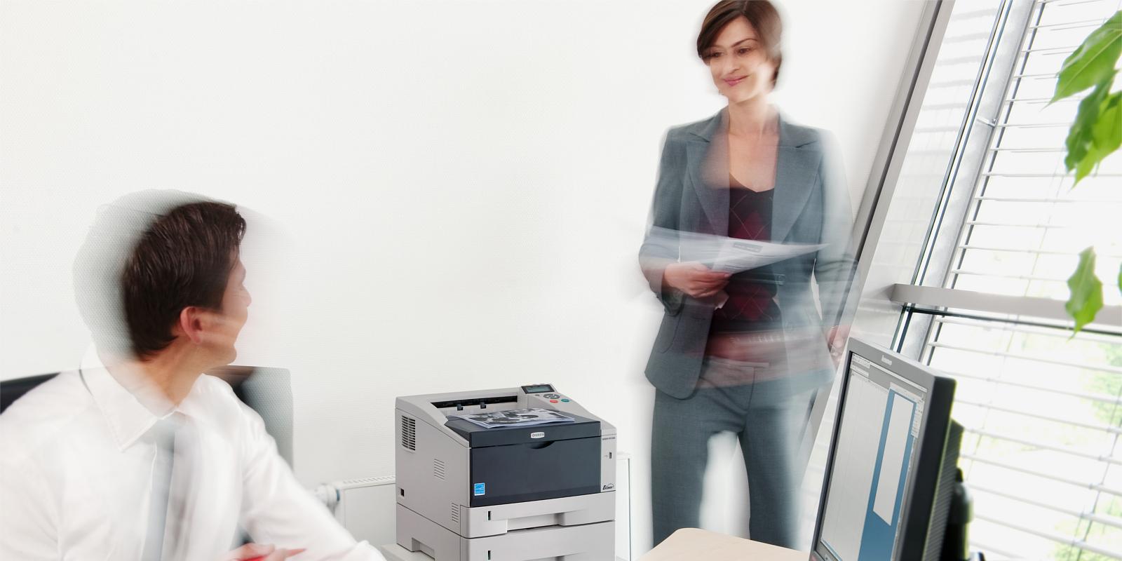 Imprimante laser monocrom Kyocera prin Romsystem.ro