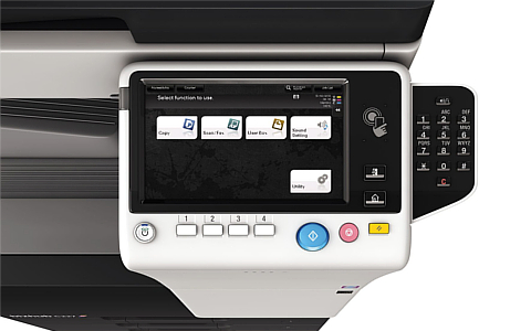 Promotie echipamente multifunctionale de printare - Konica Minolta bizhub C227 prin romsystems.ro